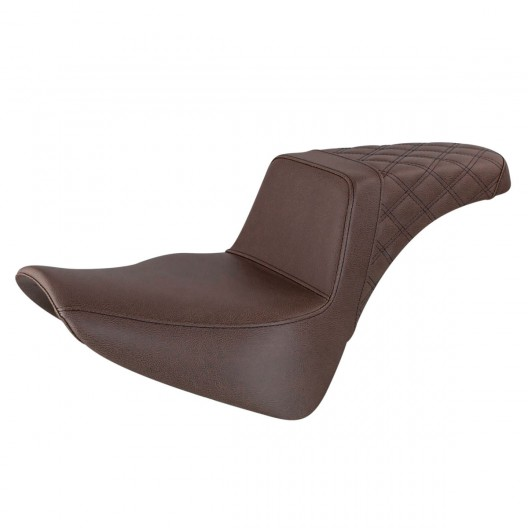 2018-2020 FLDE, FLHC/S & FLSL Brown Step-Up™ Rear LS Seat
