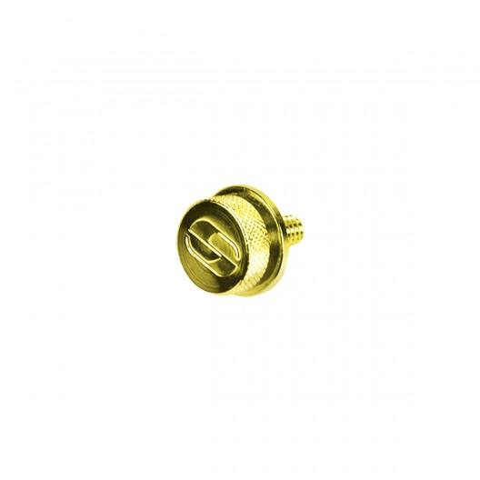 "Gold Chrome Mounting Knob 1/4""-20 Thread (8909GO)"