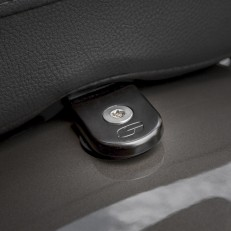 H-D ATAB Black Security Seat Screw 1/4-20