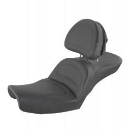 1996-2003 FXD Dyna Explorer™ Ultimate Comfort Seat with Driver's Backrest
