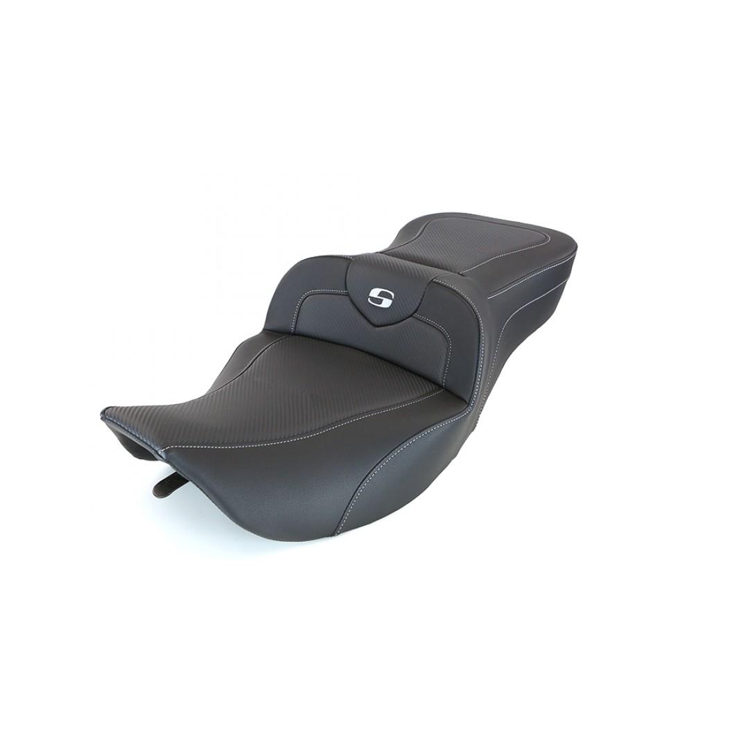 1997-2007 FLHR, FLHX Heated Roadsofa™ CF Seat