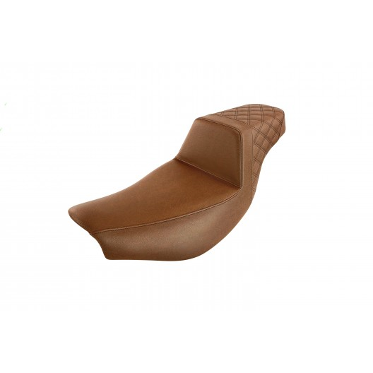 2014-2020 Indian Touring Brown Step-Up™ Rear LS Seat