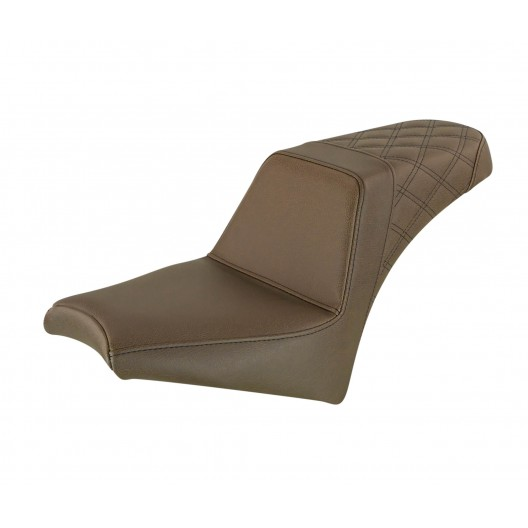 2018-2020 Scout Bobber Brown Step-Up™ Rear LS Seat