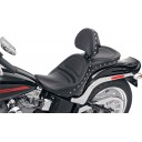 2006-09 FXST/B/S Standard, 2007-17 FLSTF/B/S Fatboy Explorer™ Special Seat with Driver's Backrest