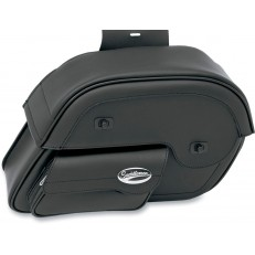 Express Cruis'n Slant Face Pouch Saddlebags, Large