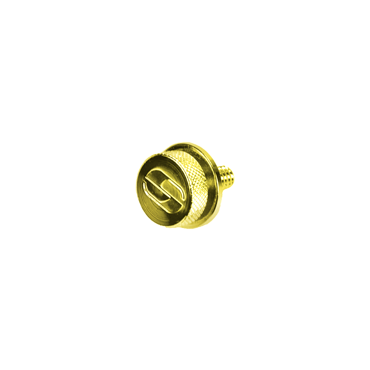 "Gold Chrome Mounting Knob 1/4""-20 Thread (8909GO)"